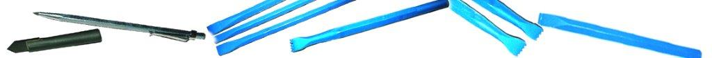 herramientas de tallado de mármol - azul
